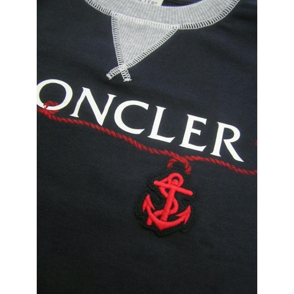 モンクレール MONCLER KIDS ユニセックス スウェットシャツ MAGLIA GIROCOLL 8018550 80417 B ネイビー/742/セール|worldclub|08