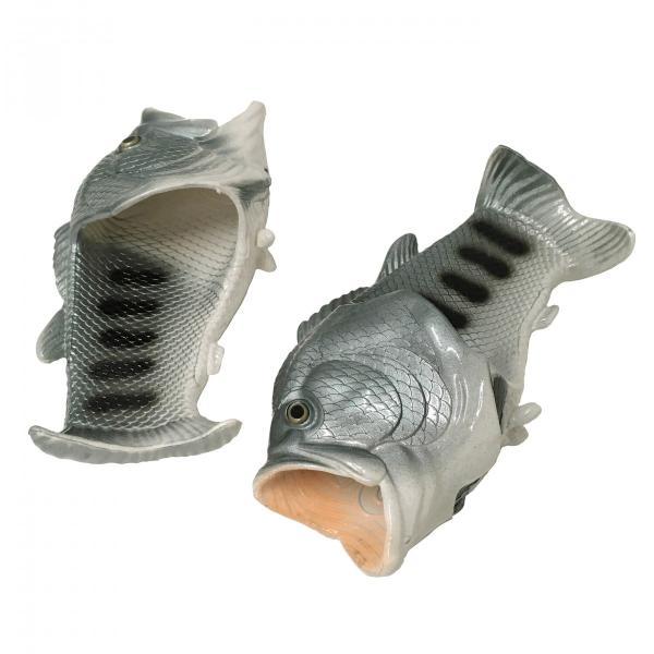 オルルド釣具 魚型 サンダル スリッパ 「サンダルド」 おさかな Lサイズ ルームシューズ 収納袋付き worlddepartyafuu 04