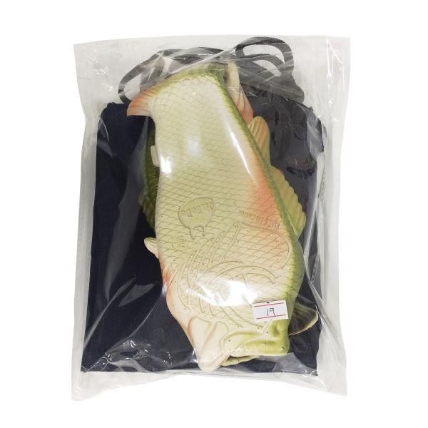 オルルド釣具 魚型 サンダル スリッパ 「サンダルド」 おさかな Lサイズ ルームシューズ 収納袋付き worlddepartyafuu 06