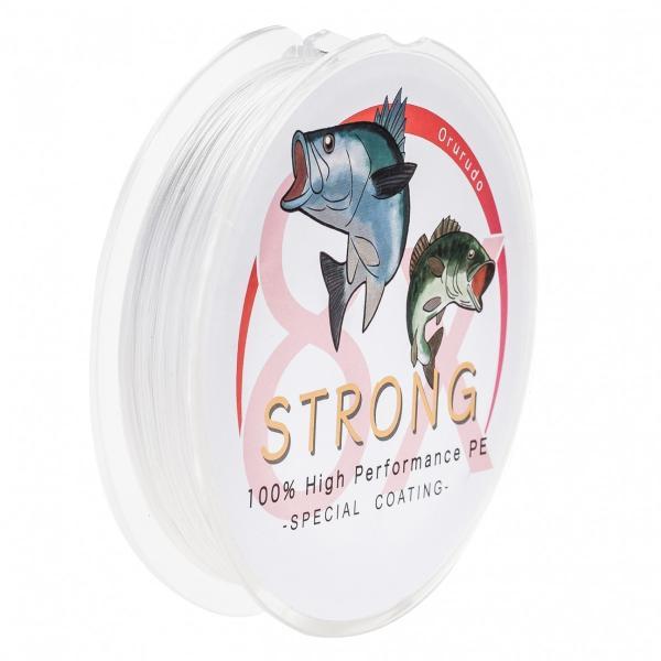 オルルド釣具 PEライン ハイパフォーマンスPE 「ストロング 8X」 500m 8本編み ポイント消化