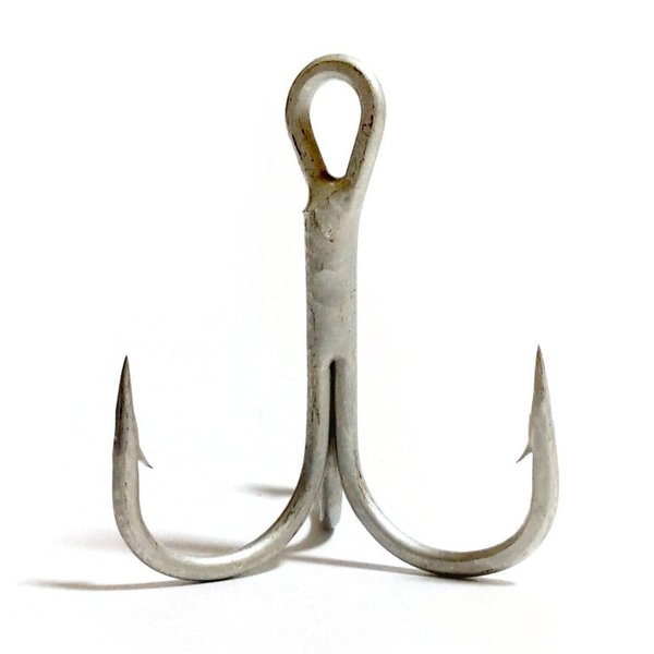 オルルド釣具 太軸トレブルフック 「トレブルド」 2# 50本セット ソルト対応 ポイント消化
