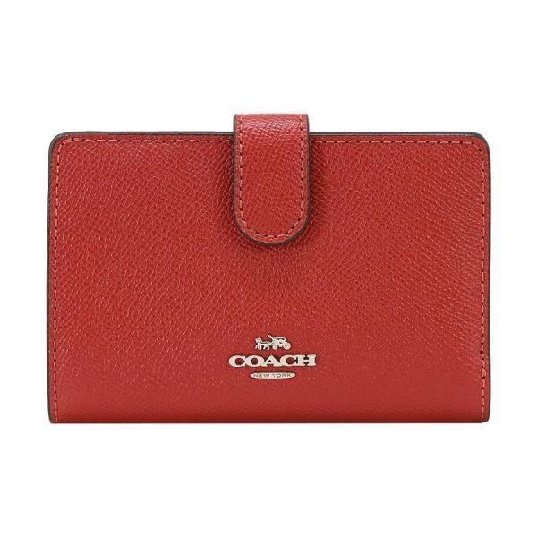 COACH コーチ 財布 二つ折り財布 F11484 SVN4N ウォッシュドレッド ウォレット アウトレット レディース 新品 worlddrive