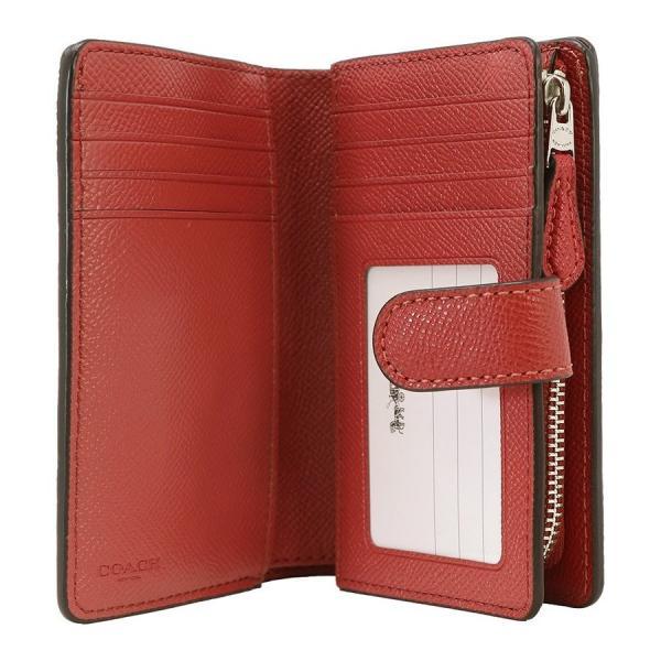 COACH コーチ 財布 二つ折り財布 F11484 SVN4N ウォッシュドレッド ウォレット アウトレット レディース 新品 worlddrive 03