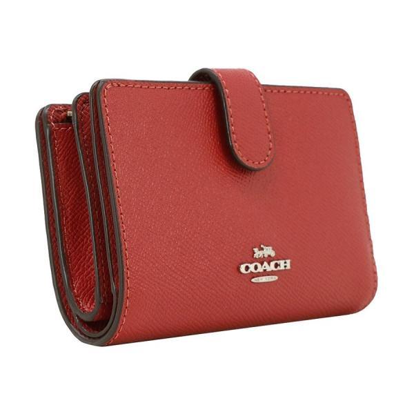 COACH コーチ 財布 二つ折り財布 F11484 SVN4N ウォッシュドレッド ウォレット アウトレット レディース 新品 worlddrive 04