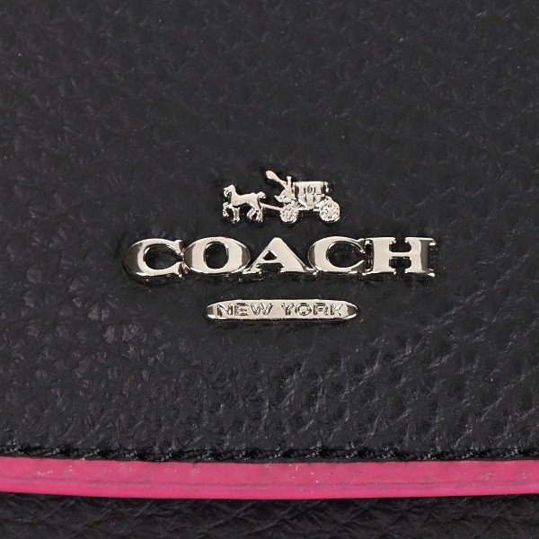 COACH OUTLET コーチ アウトレット 折り財布 F11824  SV/M2 ポリッシュペブルレザー|worlddrive|03