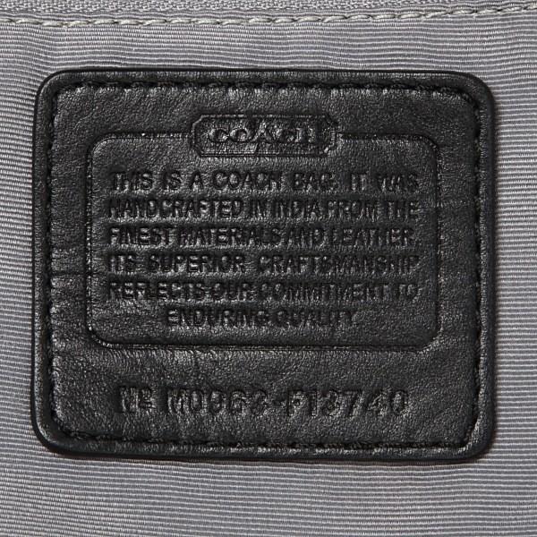 コーチバッグ アウトレット COACH ソーホー シグネチャー ホーボー 13740 ブラック|worlddrive|04