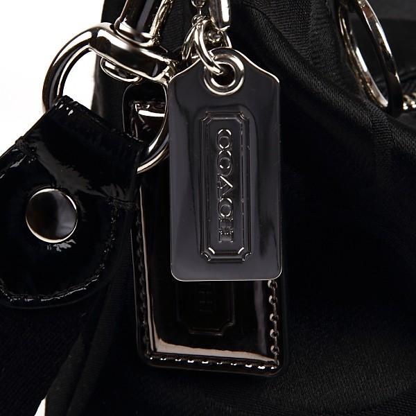 COACHコーチバッグ アウトレット 斜めがけ ポピー POPPY 2WAY ショルダー バッグ 18350 ブラック|worlddrive|02
