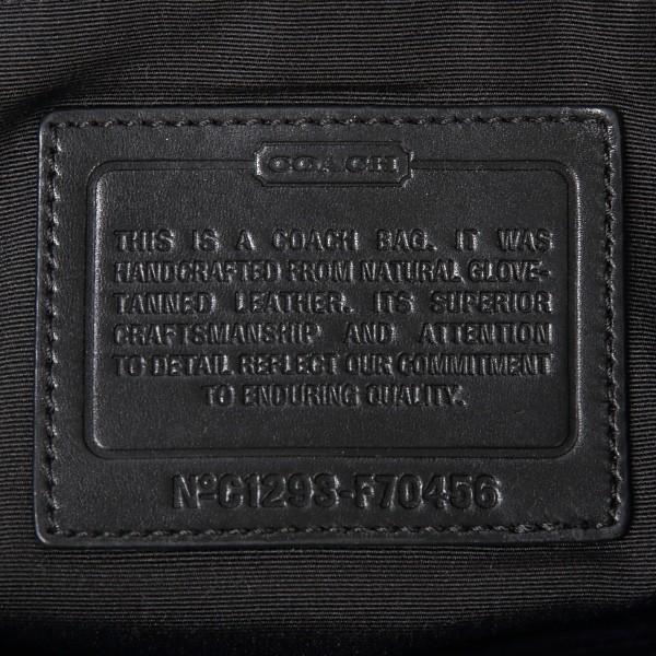 コーチ ショルダー バッグ COACH メンズ 斜めがけ レザーグラム 70456 ジップトップ クロスボディ|worlddrive|06