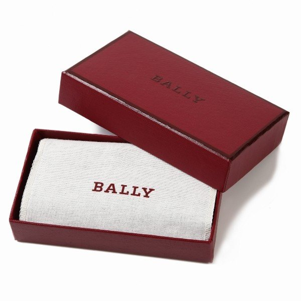 BALLY バリー キーケース アウトレット メンズ キーケース 6192966 ネイビー|worlddrive|05