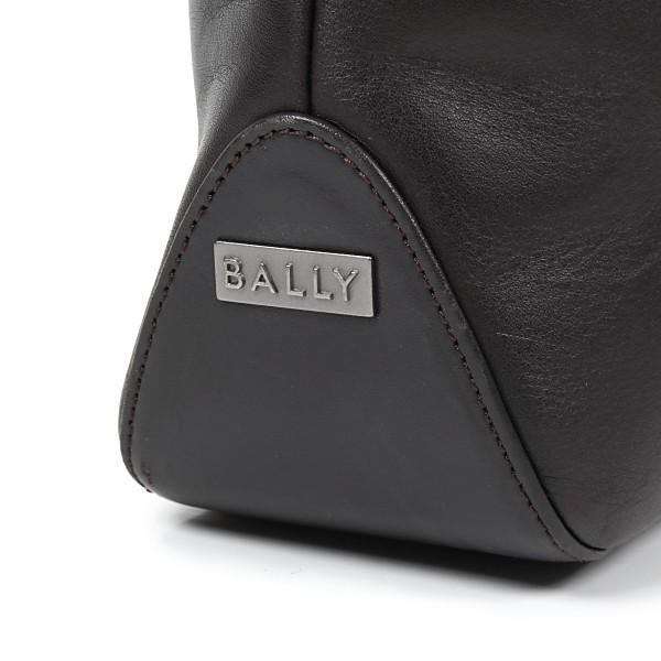 BALLY バリー バッグ レザー ダークブラウン  トート バッグ|worlddrive|02