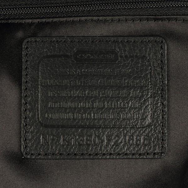 コーチバッグ 美品 アウトレット COACH レザー トートバッグ 24686 ブラック|worlddrive|06