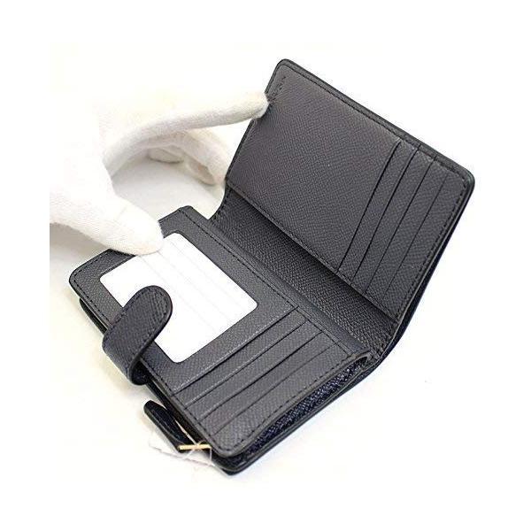 COACH コーチ 財布 二つ折り財布 レザー レディース f11484immid 新品 ギフトボックス付き|worlddrive|02
