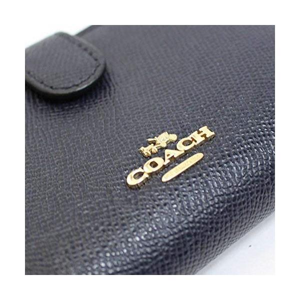 COACH コーチ 財布 二つ折り財布 レザー レディース f11484immid 新品 ギフトボックス付き|worlddrive|05