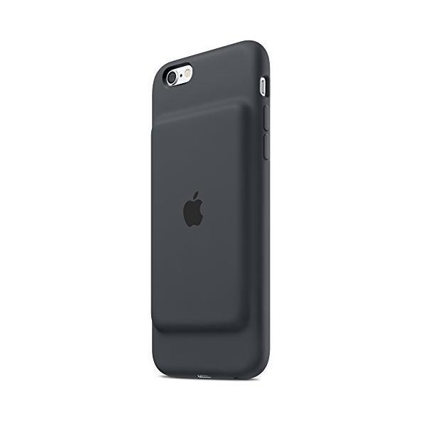 Apple アップル 純正 iPhone 6s Smart Battery Case スマートバッテリーケース (チャコールグレー)