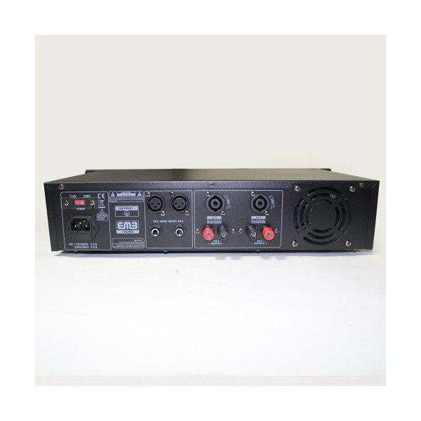 EMB Pro - PA6400 - ラックマウント プロフェッショナルパワーアンプ - 3200W PA Band Club FOR HOME DJ