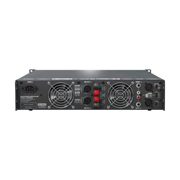 Behringer(ベリンガー) EPX2000 プロフェッショナル2000W 軽量 ステレオ パワーアンプ w/Atr (Accelerate