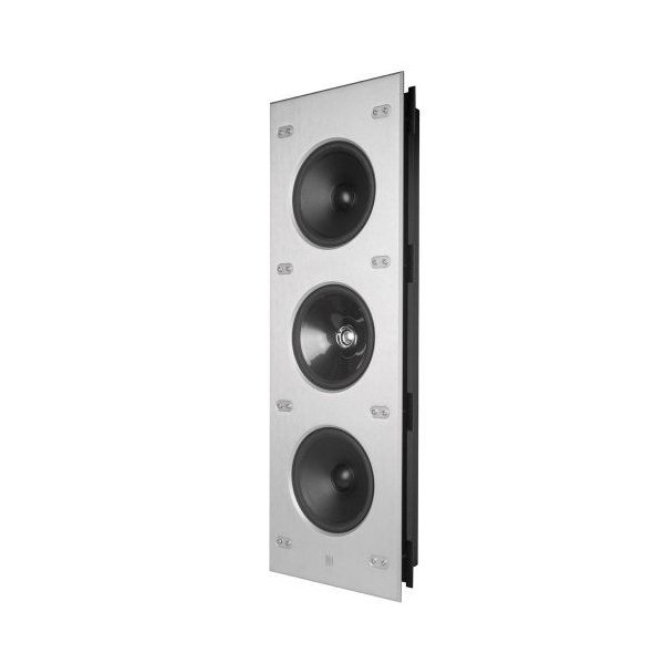 """KEF(ケーイーエフ) CI9000 Reference 3-Way In-Wall スピーカー with Four 6.5"""" Uni-Q ドライバー"""