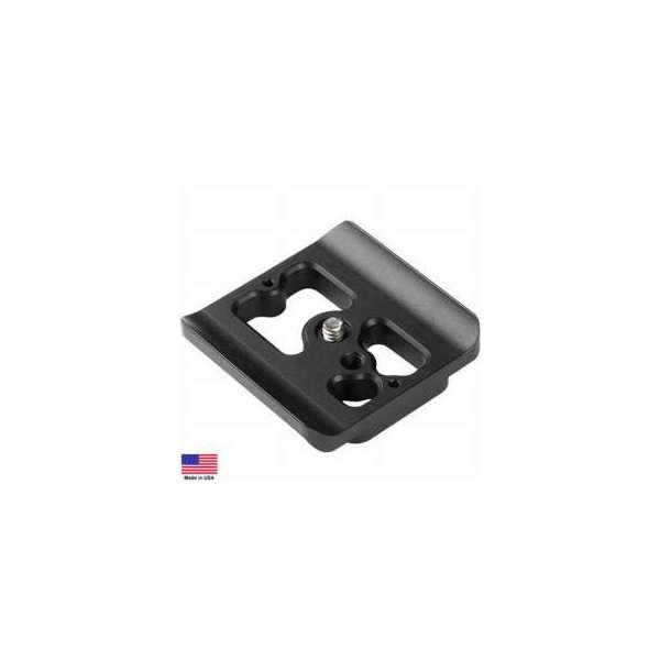 Kirk PZ-105 Camera Quick Release Plate for Canon EOS Digital Rebel XT 350D with BG-E3, EOS XTI 40