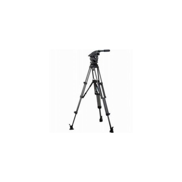 Vinten V8AS-AP2M Vision 8AS Pan and Tilt Fluid Head with Two Stage Aluminum Tripod, Mid-Level Spr