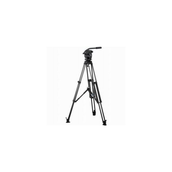 Vinten V5AS-AP1M Vision 5AS Pan and Tilt Fluid Head with Single Stage Aluminum Tripod, Mid-Level
