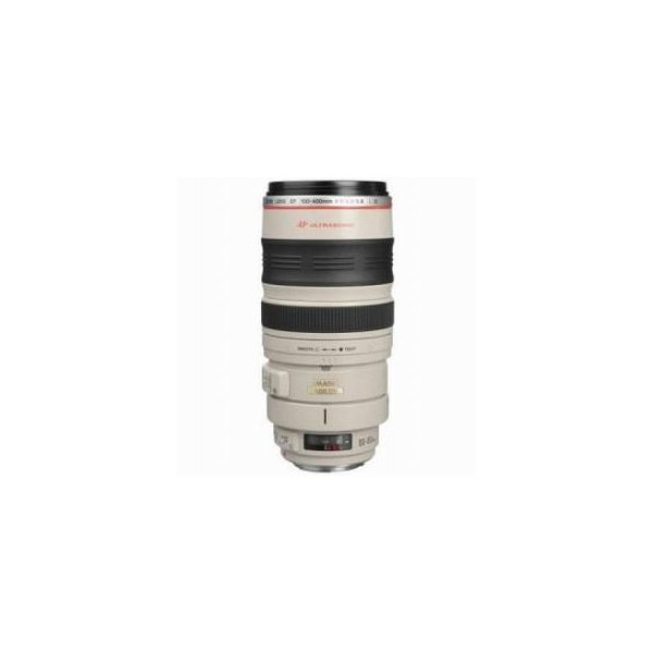 Canon EF 100-400mm f/4.5-5.6L USM AutoFocus Image Stabilized Telephoto Zoom Lens with Hood & Trip