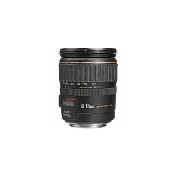 Canon EF 28-135mm f/3.5-5.6 IS USM Image Stabilized AutoFocus Wide Angle Telephoto Zoom Lens - Re