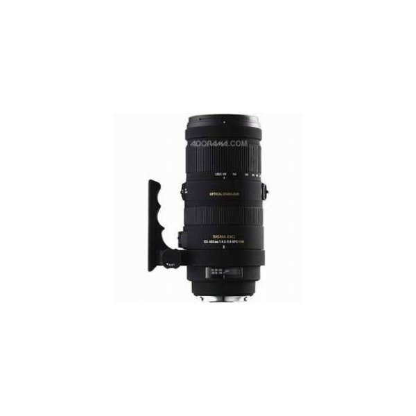 Sigma 120-400mm f/4.5-5.6 DG APO OS(Optical Stabilizer) HSM AutoFocus Telephoto Zoom Lens for Nik