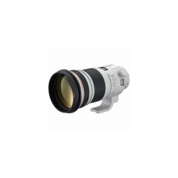 Canon EF 300mm f/2.8L IS II USM Image Stabilizer AutoFocus Telephoto Lens with Case & Hood - USA