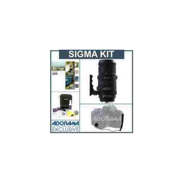 Sigma 120-400mm f/4.5-5.6 DG APO OS HSM Lens Kit with USA Warranty, for Canon EOS Cameras, with T