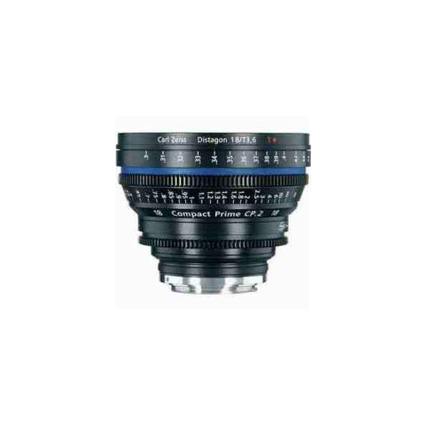 Zeiss Compact Prime CP.2 18mm f/3.6 T(Feet) Lens with Canon EF EOS Mount
