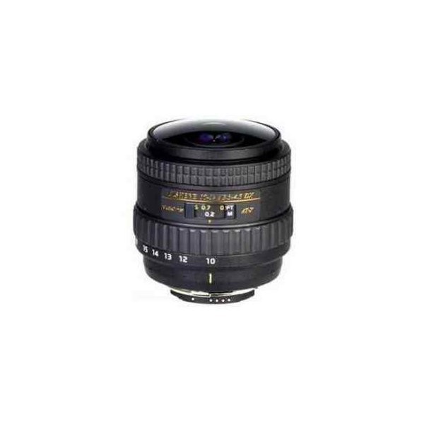 Tokina 10-17mm F/3.5-4.5 DX Autofocus Fisheye Zoom Lens for Canon EOS Digital SLR Cameras Without