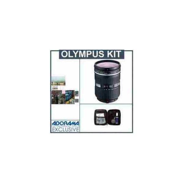 Olympus Zuiko 14-35mm F/2 Digital ED SWD Lens Kit, with Tiffen 77mm Wide Angle Filter Kit, Digita