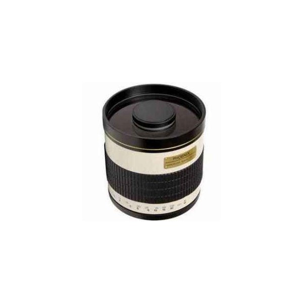 Phoenix 800mm f/8 TDX Phoenix Ultra Telephoto Manual Focus Mirror Lens - fits all Cameras that us