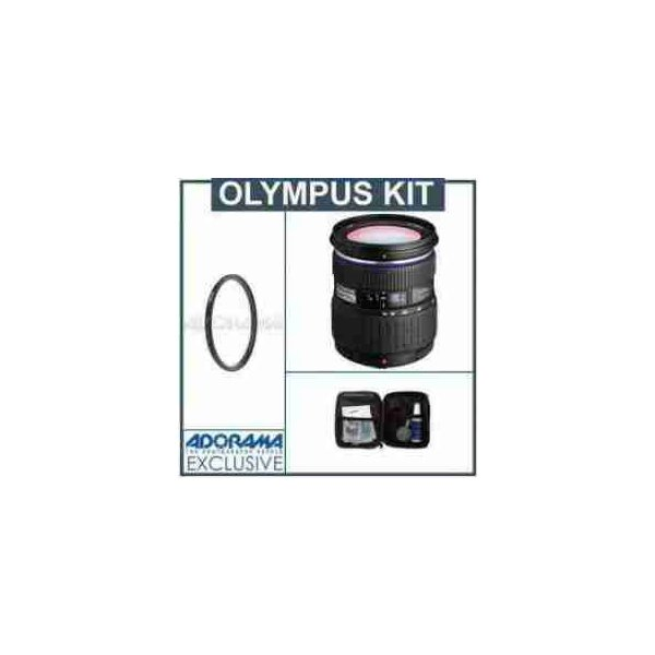 Olympus 14-54mm f/2.8-3.5 II Zuiko ED Digital SLR Zoom Lens Kit, with Tiffen 67mm UV Wide Angle F