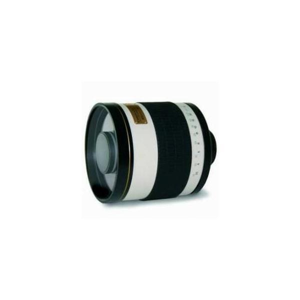 Rokinon 800mm f/8.0 Mirror T-Mount Lens, White