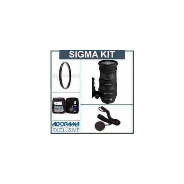 Sigma 50-500mm f/4-6.3 APO DG OS HSM Lens Kit, for Sony Alph & Maxxum Cameras. with Tiffen 86mm U