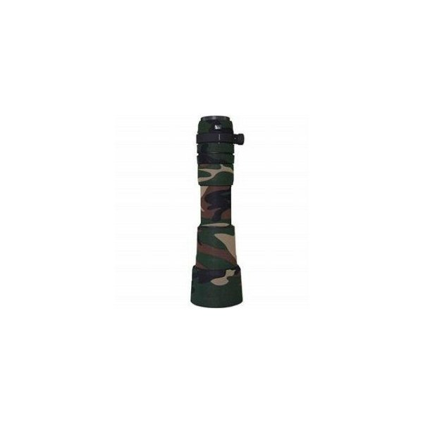 LensCoat Lens Cover for the Sigma 170-500mm Zoom Lens - Forest Green Woodland Camo