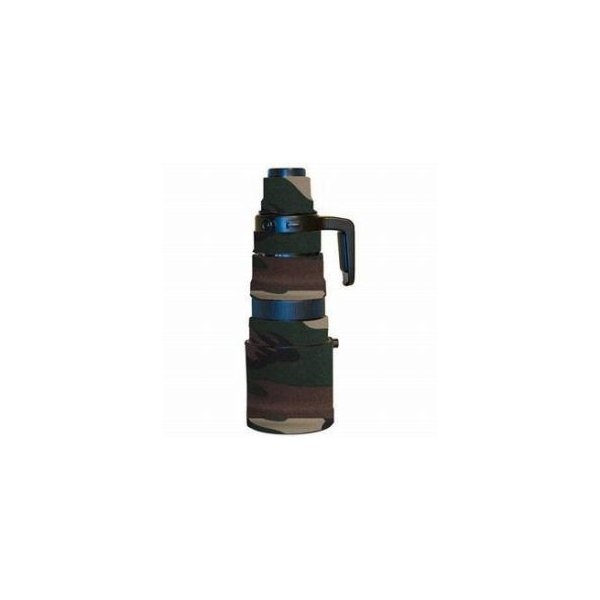 LensCoat Lens Cover for Olympus 90-250mm f/2.8 Lens, Forest Green Camo