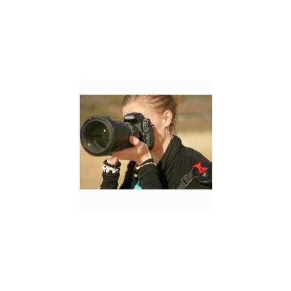 Hufa The Original Lens Cap Clip - Red - Fits Standard Camera Straps & Bags