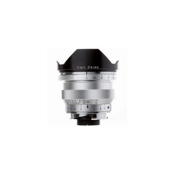 Zeiss Ikon 18mm f/4 T* ZM Distagon Lens, for Zeiss Ikon & Leica M Mount Rangefinder Cameras, Silv