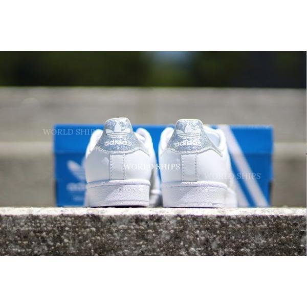 adidas スニーカー グリッター