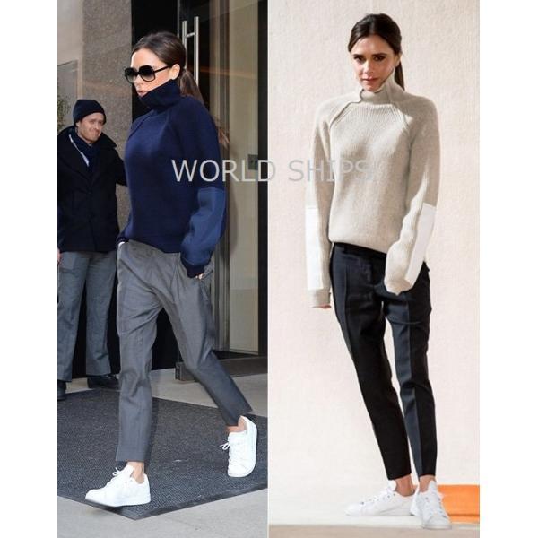 アディダス スタンスミス レディース ビクトリア ベッカム愛用 アディダス スニーカー メンズ adidas Originals StanSmith オールホワイト 海外正規品|worldships|09