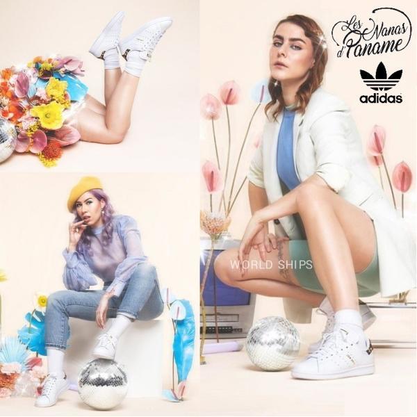 スタンスミス アディダス スニーカー レディース メンズ adidas Originals アディダスオリジナルス Stan Smith 花柄 フローラルデザイン|worldships|07