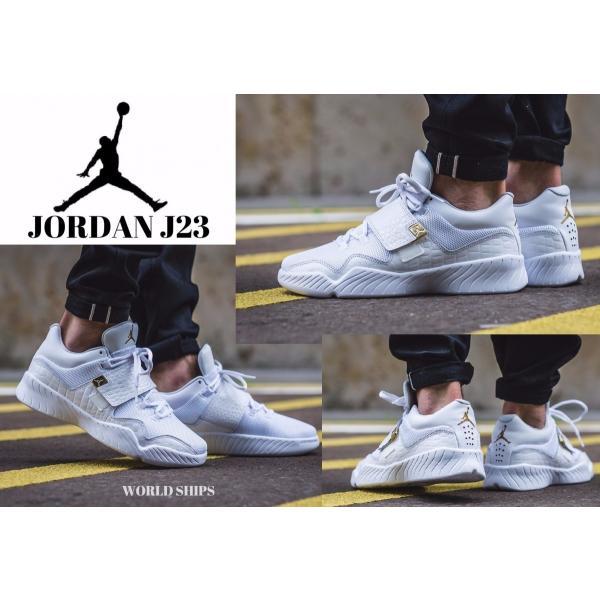 エア ジョーダン ナイキ スニーカー Nike Air Jordan J23 ホワイト/ゴールド【海外 ...