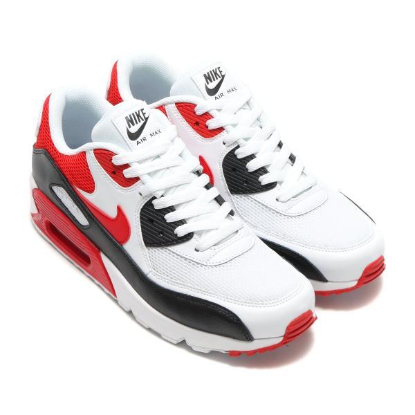 エアマックス 90 エッセンシャル ナイキ スニーカー Nike Air Max 90 Essential ウルフグレー/ユニバーシティーレッド【海外限定・正規品】|worldships|03