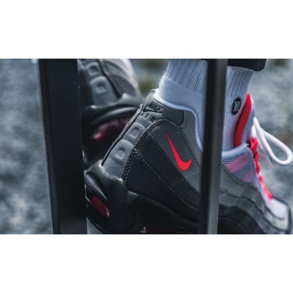 43980円→期間限定価格 NEW! エア マックス 95 ナイキ スニーカー Nike Air Max 95 ソーラー レッド【海外限定 正規品】|worldships|09