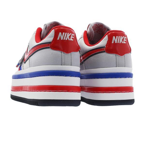 注目!厚底スタイル! バンダル 2K ナイキ スニーカー Nike Vandal 2K メタリックシルバー / レッド 本日限定価格 worldships 04