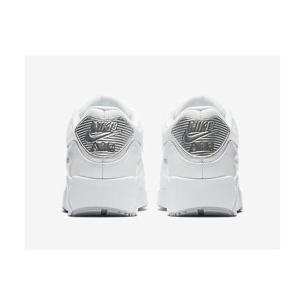 エア マックス 90 ナイキ スニーカー Nike Air Max 90 Ultra 2.0 Essential ホワイト/シルバー【海外限定・正規品】|worldships|06