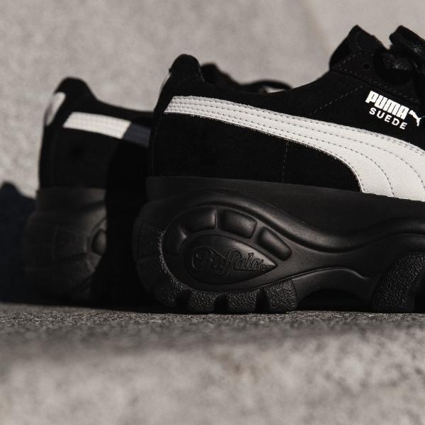 PUMA × Buffalo London プーマ 厚底 スニーカー レディース メンズ スエード プラットフォーム【海外限定・正規品】