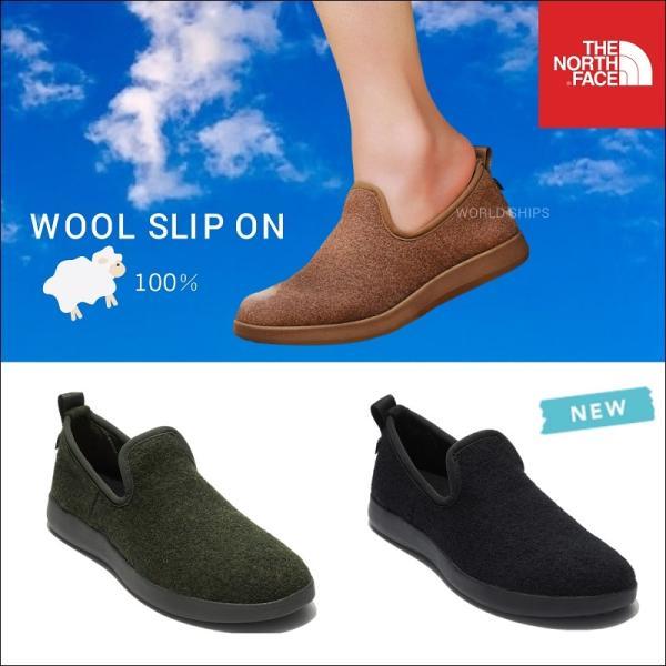 ノースフェイス靴メンズレディースウールスリップオンTHENORTHFACEWOOLSLIPON海外 モデル